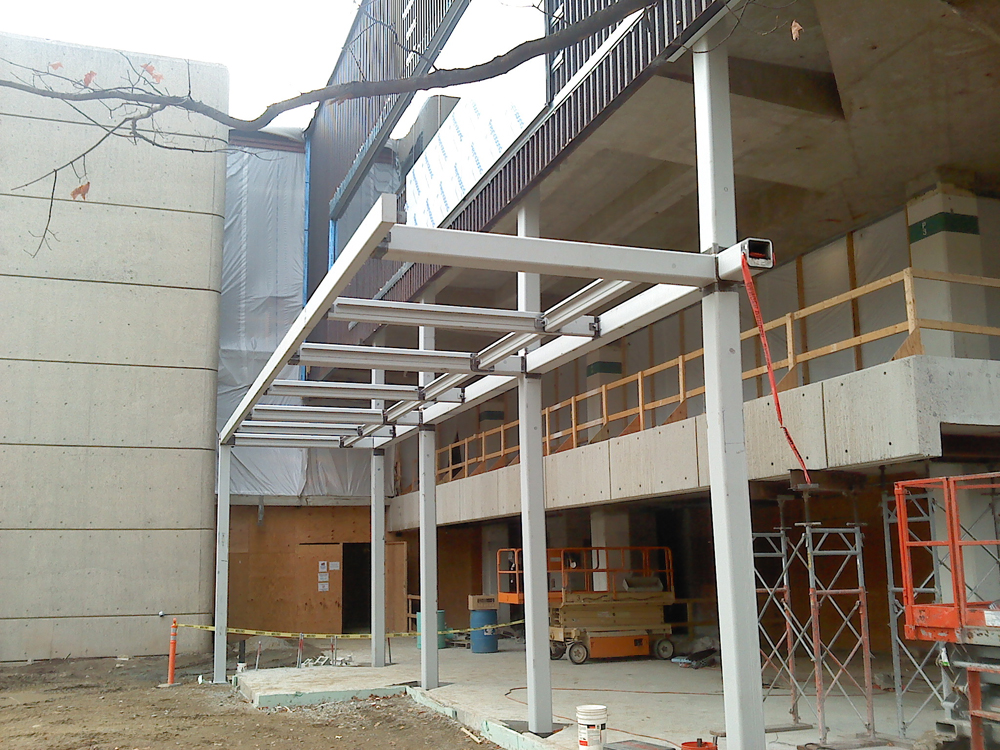 Structural Canopy Frame & Structural Steel - BSIW Has Served New England Since 1992
