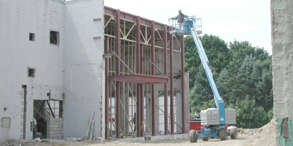 Structural Steel for Building Renovation