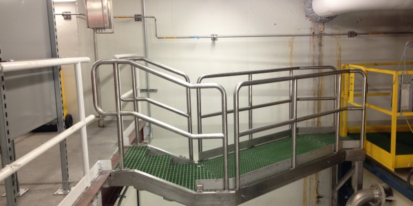 Stainless Steel Access Platform Walkway