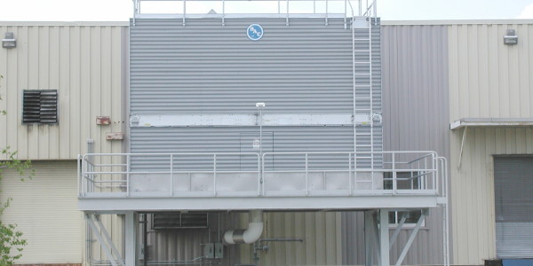 Structural Platform, Ladders and Rails for Cooling Tower Unit