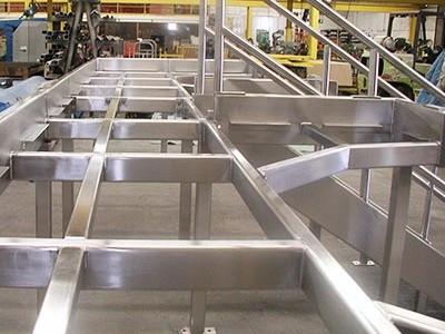 Stainless Steel Platform Frame