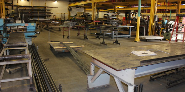 Steel Fabrication Shop